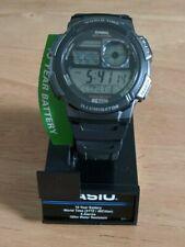NEW!  Casio Men's AE1000W-1BVCF Silver-Tone and Black Digital Sport Watch