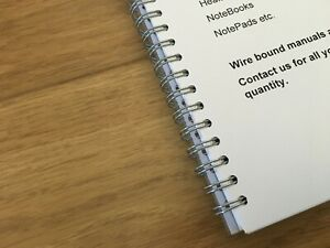 Documents Binding - Wire, Spiral, Wiro Bookbinding Services
