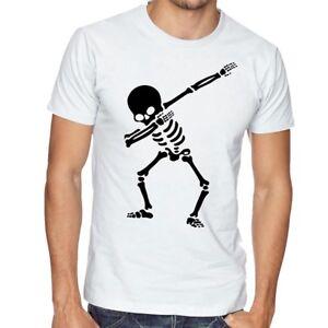 Tshirt Dabbing Skeleton - Maglietta Dab Dance Scheletro