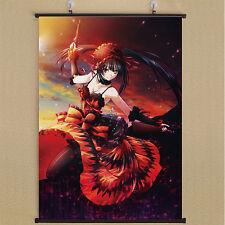 Anime DATE A LIVE  Tokisaki Kurumi Home Decor Poster Wall Scroll 40cm*60cm