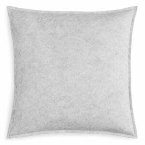 SFERRA PALLANI Euro Pillow Sham Lunar Grey Gray LONG STAPLE PERCALE COTTON NEW