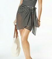 Michael Michael Kors Striped Sarong Cover-Up  MSRP $70 Size S # UB4 302 NEW
