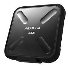 256GB AData SD700 Durable External SSD - USB3.1 Interface - Black