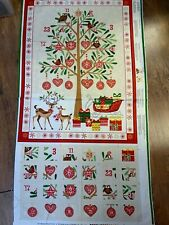 Advent Calendar panel 21.5 wide x 29in length approx (when finished )