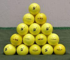 36  Bridgestone e6 4A Yellow Golf Balls