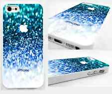 Thin case,cover for iPhone,iPod,abstract,space,blue,white,glossy design,gift for