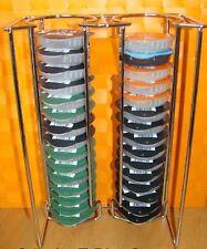 T-Disc Ständer,Kapselhalter,Padhalter,Disc Ständer,Verchromt für bis zu 32 Disc