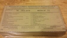 MRE Emergency Food Combat Military French Army food ration RCIR 24H