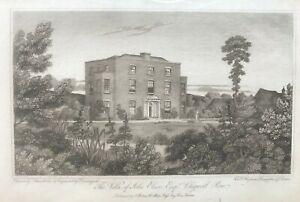 1810 Antique Print; Sheepcotes, Chigwell Row, Essex after Schnebbelie