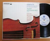 SDBR 3045 Sibelius Violin Concerto Tossy Spivakovsky 1967 Everest Stereo NM/EX