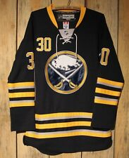 Reebok NHL Centre Ice #30 Ryan Miller Buffalo Sabres Jersey Sewn Adult Size 48 +
