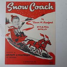piano solo SNOW COACH trevor stanford - russ conway