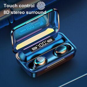Cuffie Bluetooth 5.0 Senza Fili in Ear Impermeabile Auricolari con Display LED