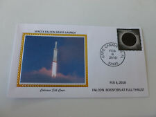 Spacex Falcon Booster Rockets Launch 2018 Space Cover Colorano Limited Ed. {#2}