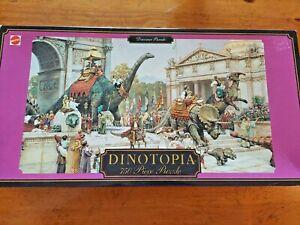 James Gurney - Dinosaur Parade(Boulevard) - Dinotopia - 750 puzzle complete