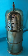 Sugar Caster Antique Border, Gadroon Edge Sterling Silver Chester 1904, Marked