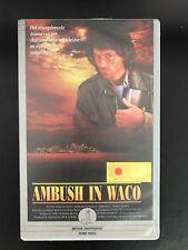 Ambush In Waco Ex-Rental Vintage Big Box VHS Tape English with dutch subs