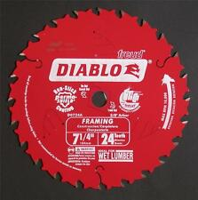 "FREUD DIABLO D0724A 184MM 7-1/4"" 7 1/4"" 24T CIRCULAR SAW BLADE VERY TOP QUALITY"