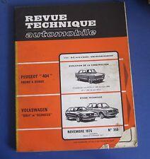 Revue technique RTA 350 Volkswagen Golf et scirocco