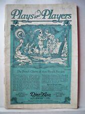 THE BROADWAY WHIRL Playbill BLANCHE RING / CHARLES WINNINGER Tour Phila 1921