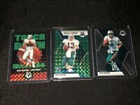 2020 Mosaic Football Dan Marino (3) Card Lot! Prizm! Miami Dolphins!