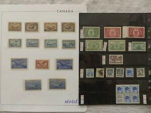 Kanada u Neufundland Dubletten u Sammlungsteilen, alles abgebildet