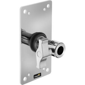 """Barely Used Impact Wall Plate with 5/8"""" Locking Receiver"""