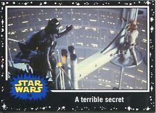 Star Wars JTTFA Black Parallel Base Card #58 A terrible secret