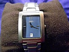 Man's Mossimo Watch with Silver Band **Nice** B15-387