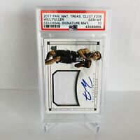 Will Fuller 2017 National Treasures PSA 10 Auto Colossal Signature Card RC