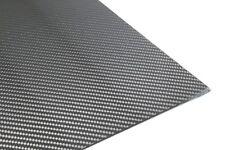 Carbon CFK 3K Platte 1,0mm Stärke - Abmessung 400mm-500mm