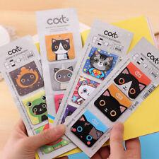 3X Cartoon Cats Kitten Magnet Bookmark Stationery Souvenir Collection Kids Gift