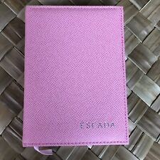 Escada Pink Padded Notebook Journal Book