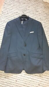 Zara Man Herren Anzug blau slim fit Gr. 54 NEU !!!