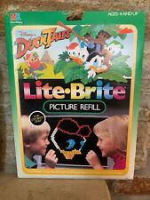 Vintage Lite Brite Duck Tales Picture Refill- Brand New In Sealed Package