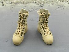 1/6 Scale USAF Pararescue PJ Tan Combat Boots Foot Type