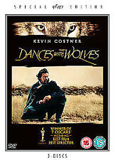 DANCES WITH WOLVES - 3 Disc Special Edition Dancing New Sealed UK Region 2 DVD