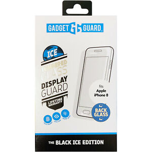 Gadget Guard Black Ice Edition Tempered BACK Glass for Apple iPhone 8 / 8 Plus