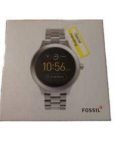 Fossil FTW6003 Q Venture Gen 3 Stainless Steel Smartwatch