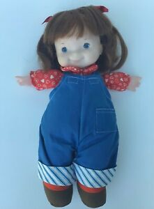 Fisher Price Lap Sitter Doll Audrey 1970s
