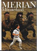 Merian Münsterland September 1986/ Heft 9/ 39. Jahrgang Droste-Hülshoff Bomberg