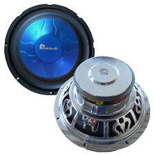 "Pinkbull 800 Watt 12"" Auto Car Subwoofer Woofer WK12, blau (Stück)"