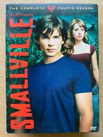 Smallville Season 4 DVD Box Set DC Universe Superman TV Series Region 1
