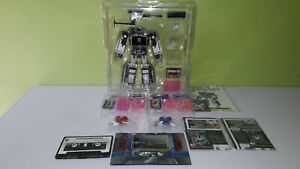 TRANSFORMERS MASTERPIECE SOUNDWAVE MP13 ORI, CASSETTES MP15 ORI, MP16 KO SET BIB