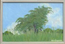 Artista svedese-assolate foresta & Prati Paesaggio-COLLAGES