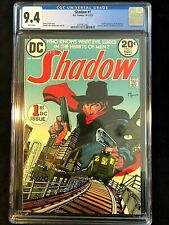 The Shadow #1 CGC 9.4 1st DC Appearance of the Shadow WHITE PAGES - NEW CASE