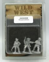 Artizan AWW008 Desperadoes (Wild West) Outlaws Bandits Gunslingers Miniatures