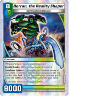 Kaijudo 1X BORRAN, THE REALITY SHAPER Super Rare S9/S10 9SHA Shattered Alliances