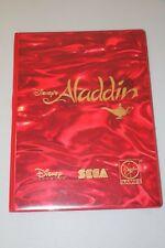 Sega Disney's Aladdin Virgin Games Promotional Notepad Portfolio Sega Summit