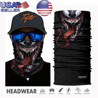 Balaclava Bandana Face Full-Function Neck Gaiter Tube Scarf Bike Fishing Snood